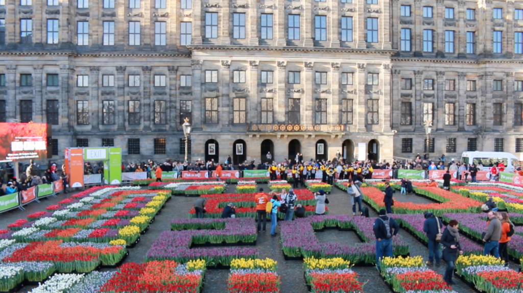 National Tulip Day - Dam Square Amsterdam